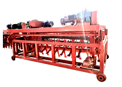 Groove Type Cow Dung Compost Machine