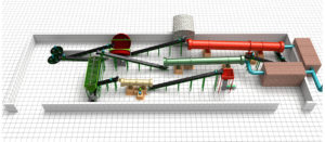 Complete Organic Fertilizer Production Line Equipment for Granular Fertilizer Production