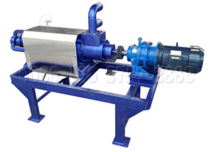 Cow Manure Dewatering Machine