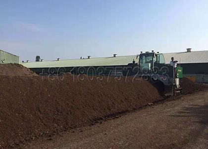 Cow Dung Composted Fertilizer Production Line (can be customized for you)