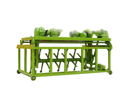 Cow Dung Composting Fertilizer Machine for Sale