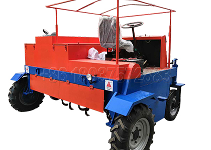 Horse Manure Compost Turning Machine for Sale