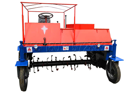 Self-Propelled Poultry Manure Compost Turning Machine
