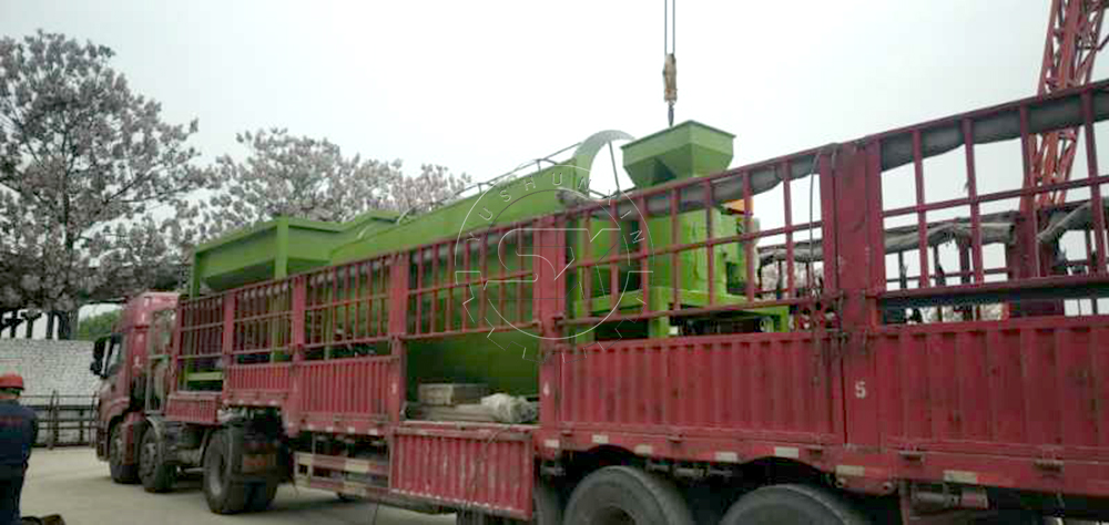 Deliver Fertilizer Production Line to our Indian Customer